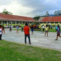 Turnamen Bola Kaki dan Bola Volly TMMD 102 Poso Dekatkan TNI dan Masyarakat