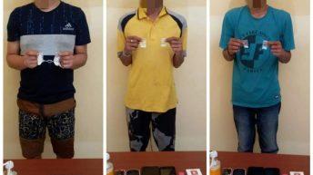 Polres Touna Kembali Bekuk Tiga Pengedar Narkoba Bersama Barang Bukti