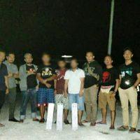 Polres Touna Tahan Tersangka Pencurian Battery Tower milik PT. Telkomsel BTS Desa Sabo