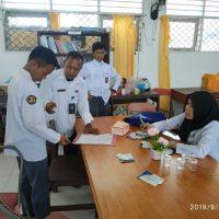 Cegah Narkoba Masuk Sekolah, BNNK Touna Laksanakan Tes Urine di SMK Parawisata dan SMK Informatika