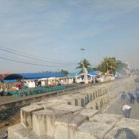 Peringati HARHUBNAS 2019, KUPP Kelas III Ampana Gelar Aksi Bersih Laut dan Pantai